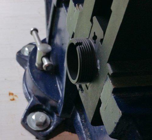 AR15 Upper In Vice