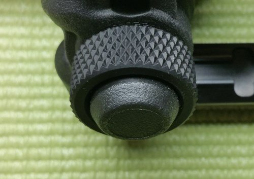 Magpul M-LOK Bipod Review - Rubber Bottom