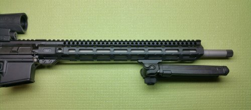 Midwest Industries Combat Rail - Installed