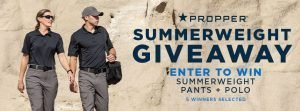 Propper Giveaway